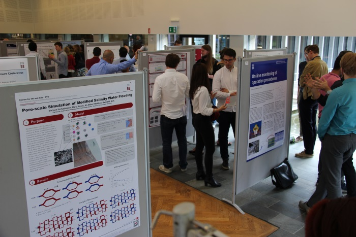 Poster session at YRD 2019
